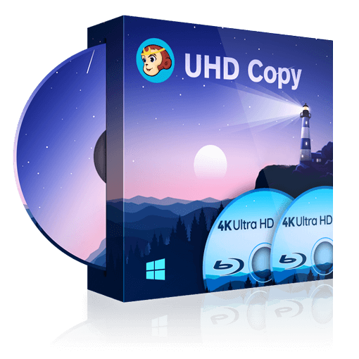 DVDFab UHD Copy | World's 1st 4K UHD copy software to copy